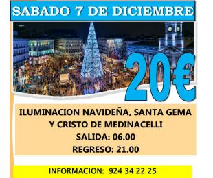 MADRID ILUMINACION NAVIDAD 2019