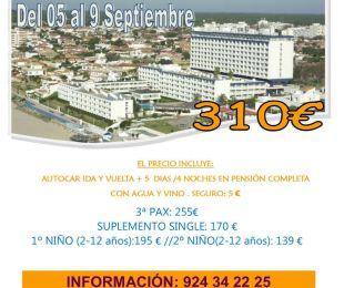 MATALASCAÑAS HOTEL FLAMERO PUENTE EXTREMADURA